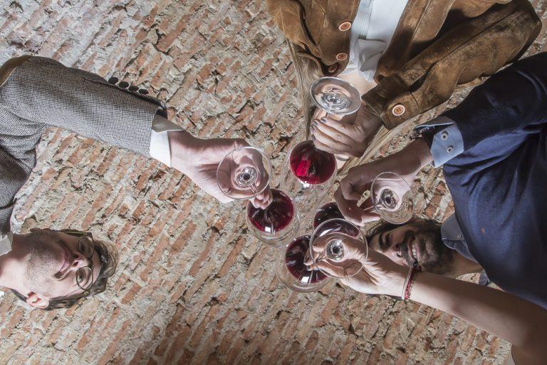 El color del vino tinto
