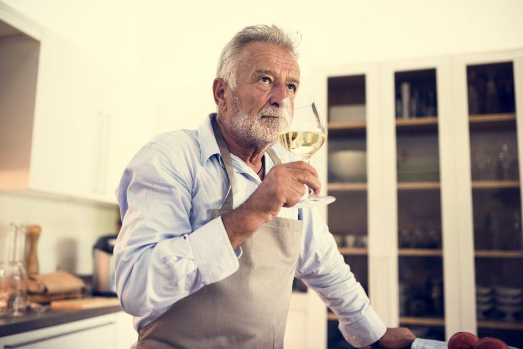 Fase olfativa cata de vino