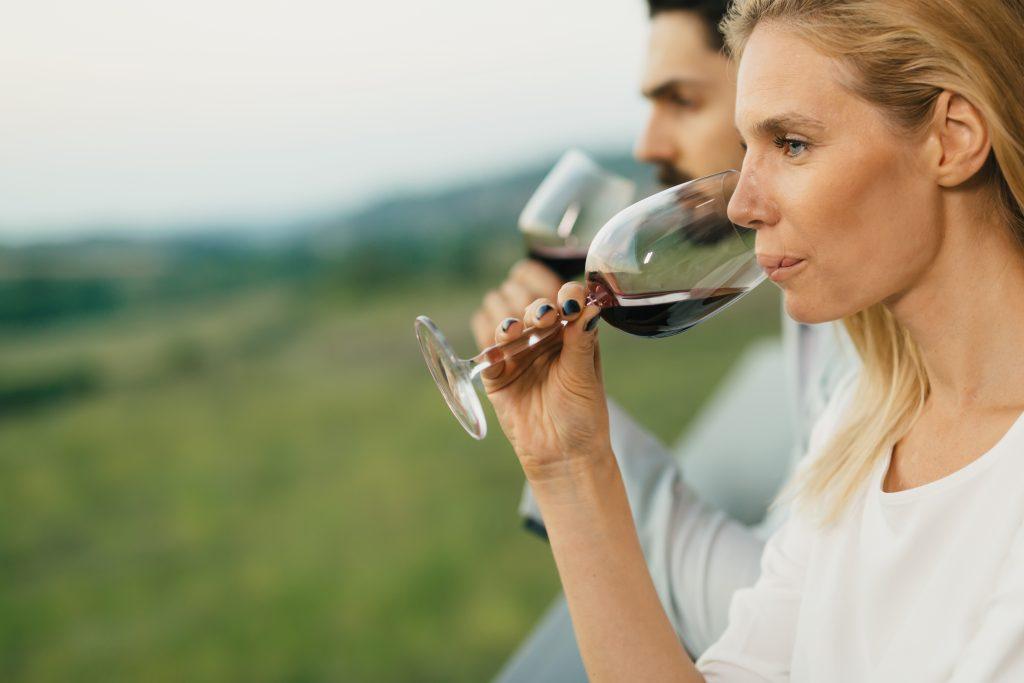Fase gustativa en la cata de vino