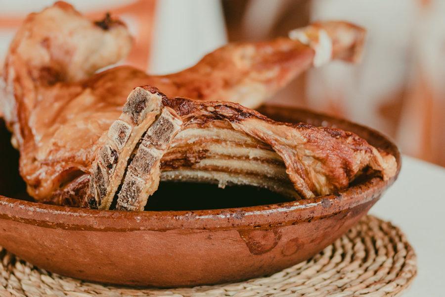 comer lechazo en la Ribera del Duero