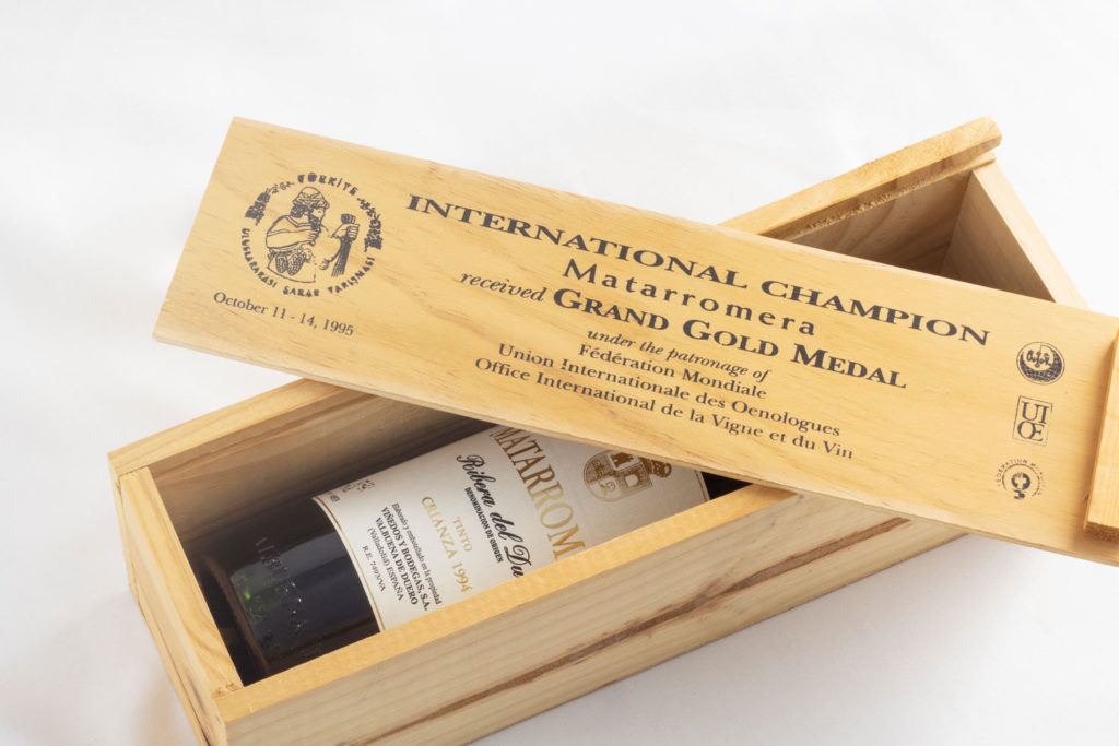 matarromera 1994 elegido mejor vino del mundo International Wine Competition