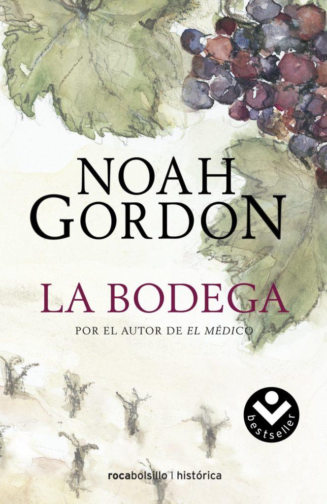 Portada del Libro de Noah Gordon, La Bodega