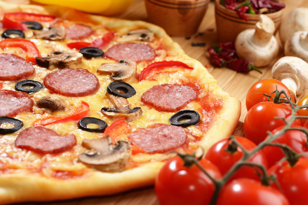 PIZZA PARA COMER CON AMIGOS EN LA EUROCOPA