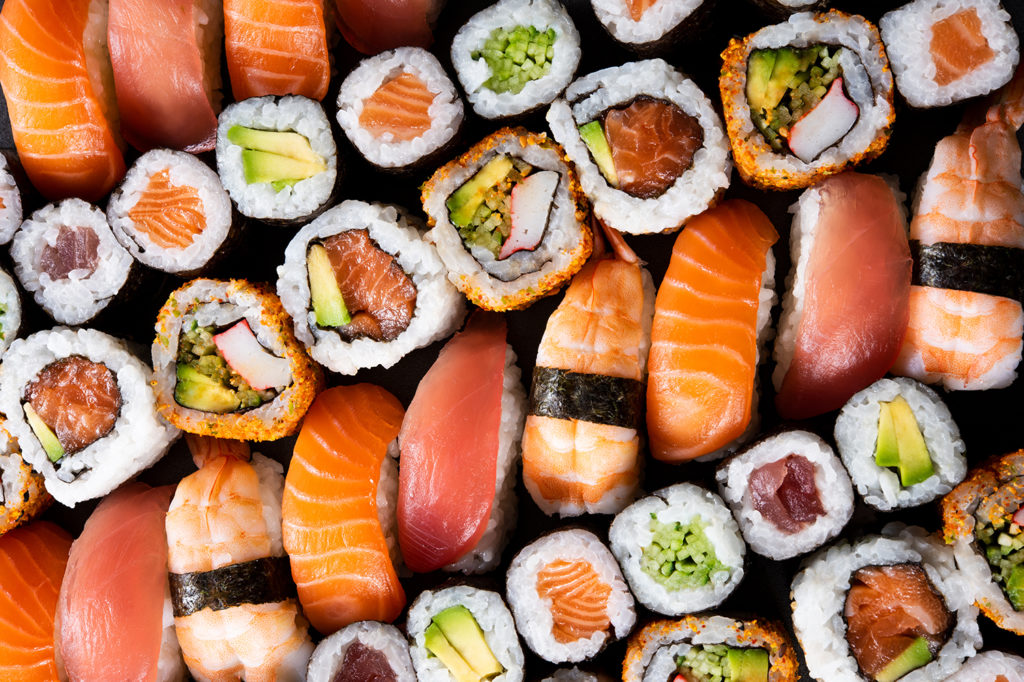 sushi para euro 2020