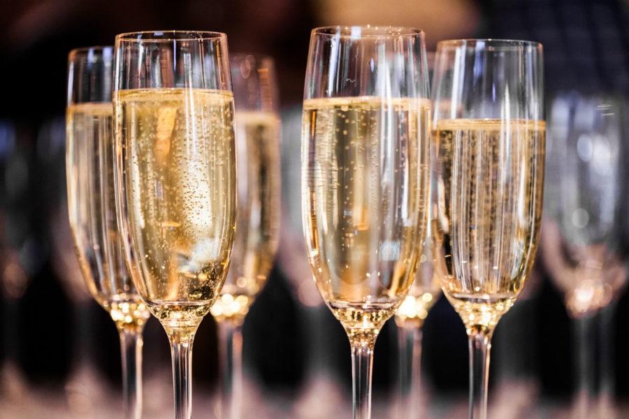 maridaje con champán - vino espumoso