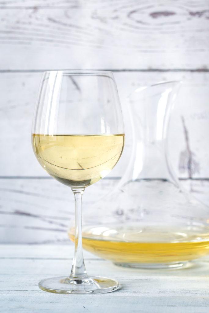 se decantan los vinos blancos